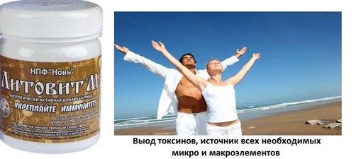 Литовит-М, вывод токсинов, нормализация минерального обмена, порошок, 150 г